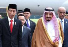 Presiden Jokowi Sambut Langsung Kedatangan Raja Salman - Biro Pers Kepresidenan